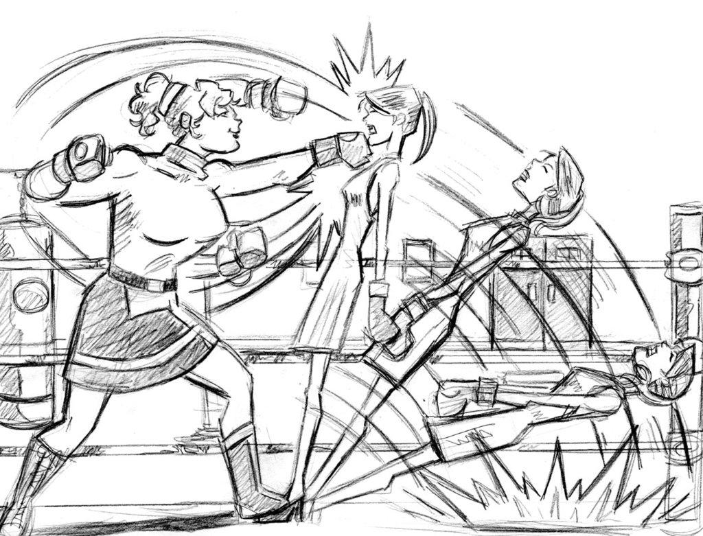 1024x781 Prefight Punching Bag Sm By Ike306