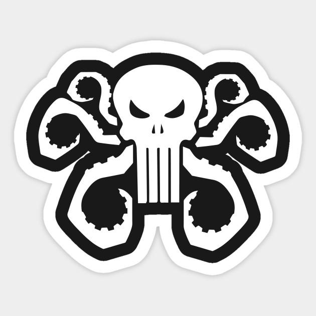 630x630 Punisher Agent Of Hydra Classic White T Shirt