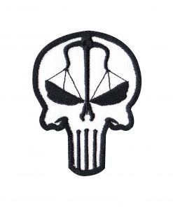 247x296 Punisher Skull New Mexico Zia Symbol Tactical Morale Hook loop