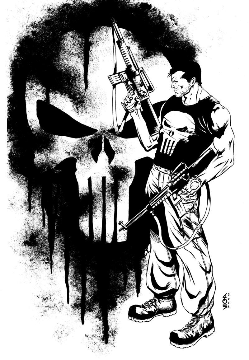 800x1157 The Punisher By Vittoriogarofoli83 On The Punisher