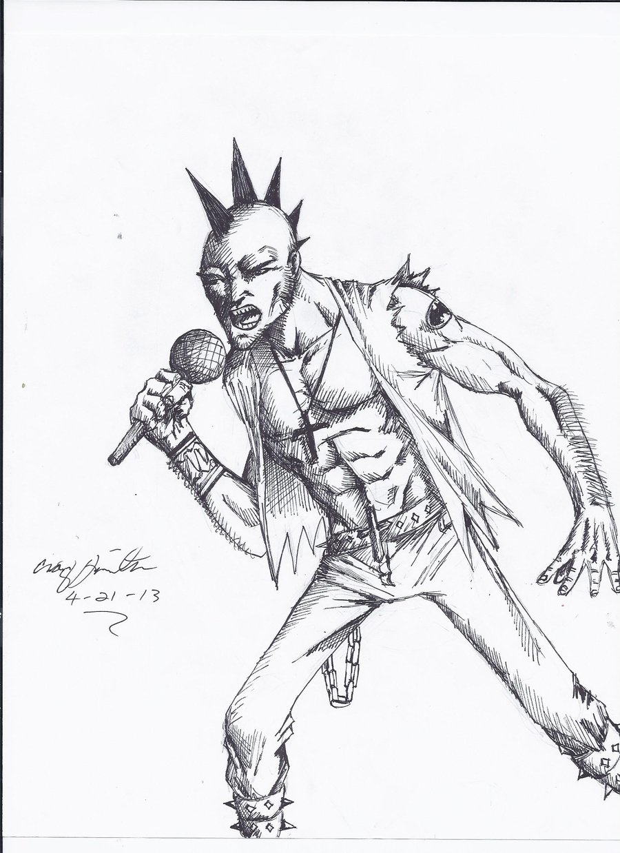 Punk Rock Drawing At Getdrawings Com Free For Personal Use Punk