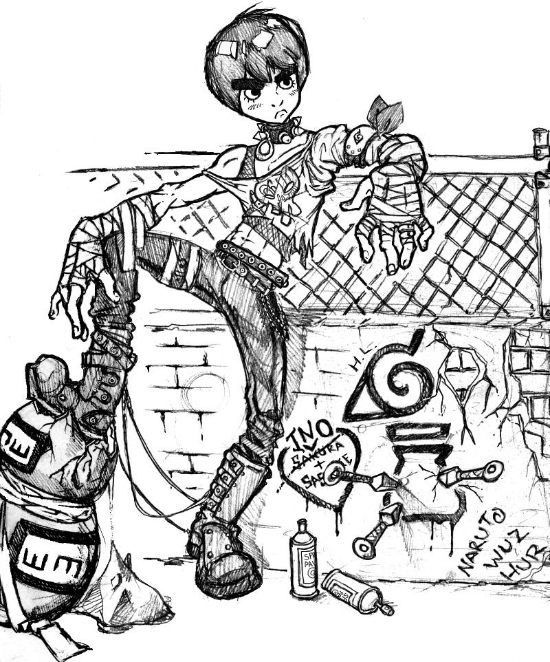 800x962 Punk Rock Lee By Kupidkilla