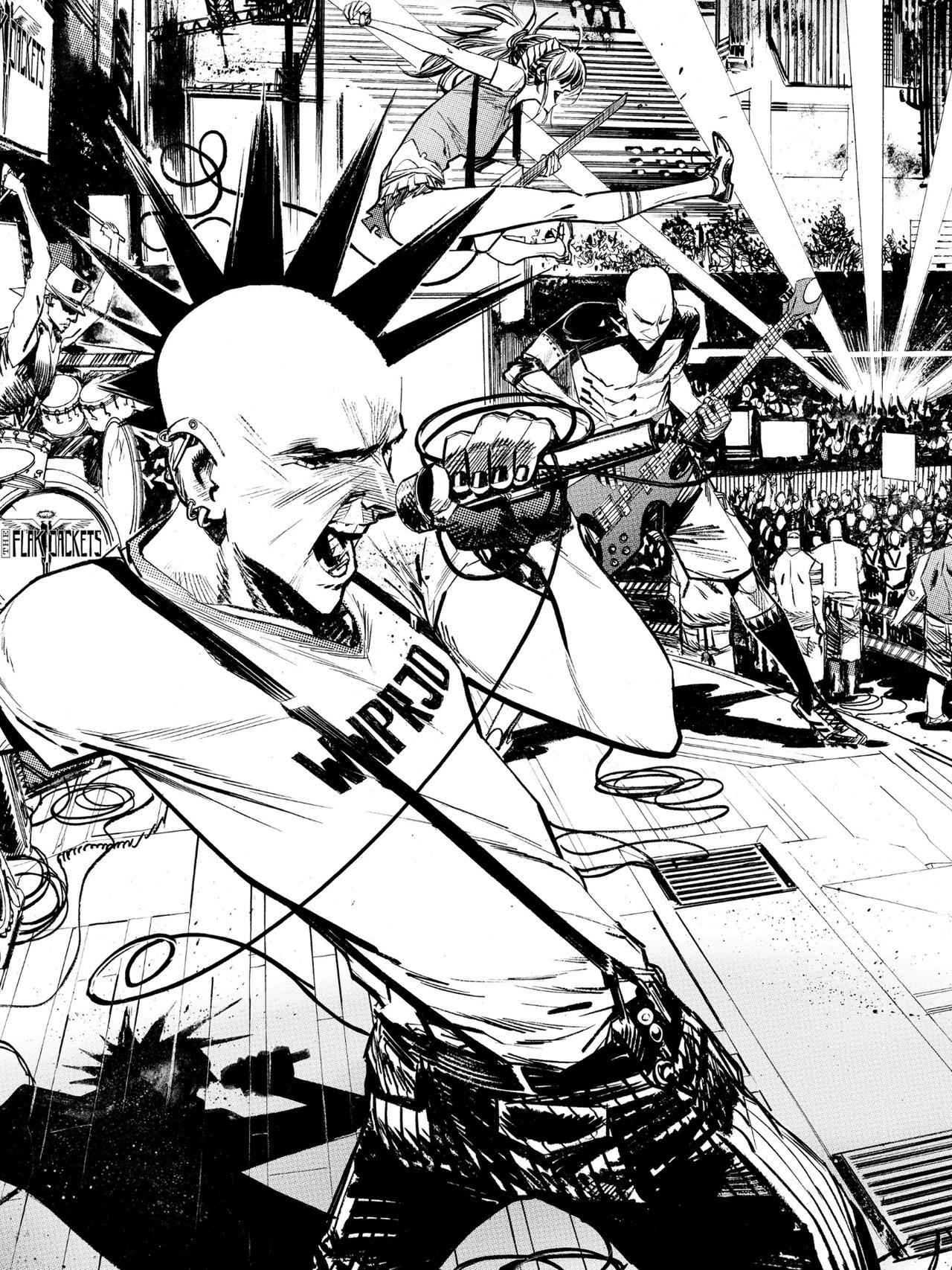 1280x1707 Benjamin Bailey Thinks Too Much Punk Rock Jesus By Sean Murphy