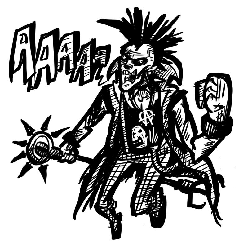 800x800 Burn The Internet Zed The Punk Rock Zombie