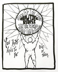 240x300 Punk Rock Drawings Fine Art America