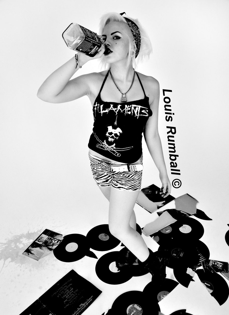 900x1236 Punk Rock Girl 1 By Louisrumball