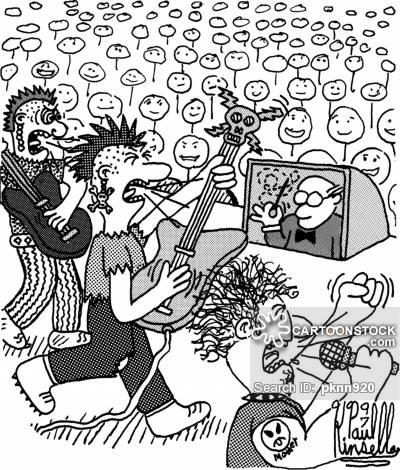 400x470 Punk Rockers Cartoons And Comics