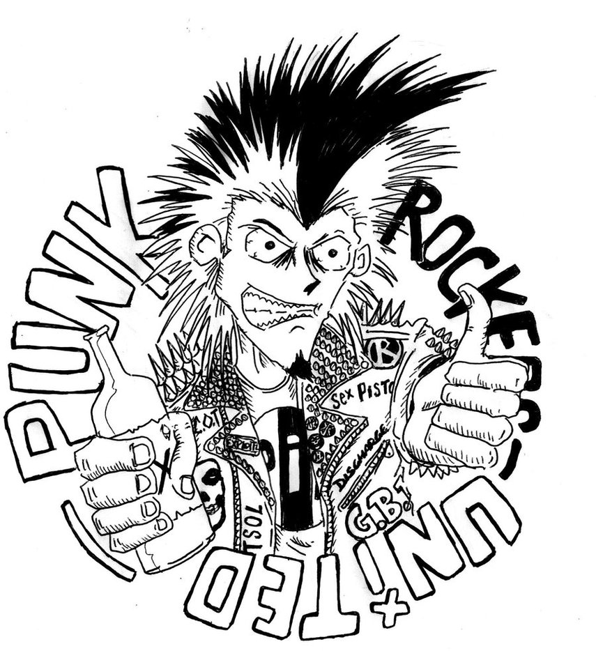 855x934 Punk Rockers United Art By Gravelord138