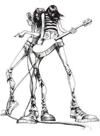 330x450 Ramones Rock N' Roll Illustrated Ramones