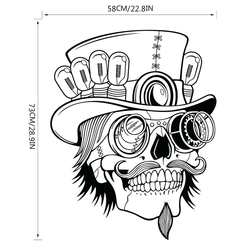 800x800 Tattoos Fabulous Punk Rock Coloring Book