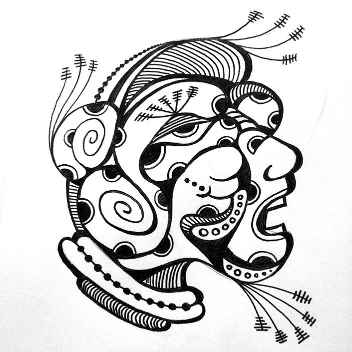 705x705 Jmervz Inkworks Pen Amp Ink Multi Pupil(Ed) Faces