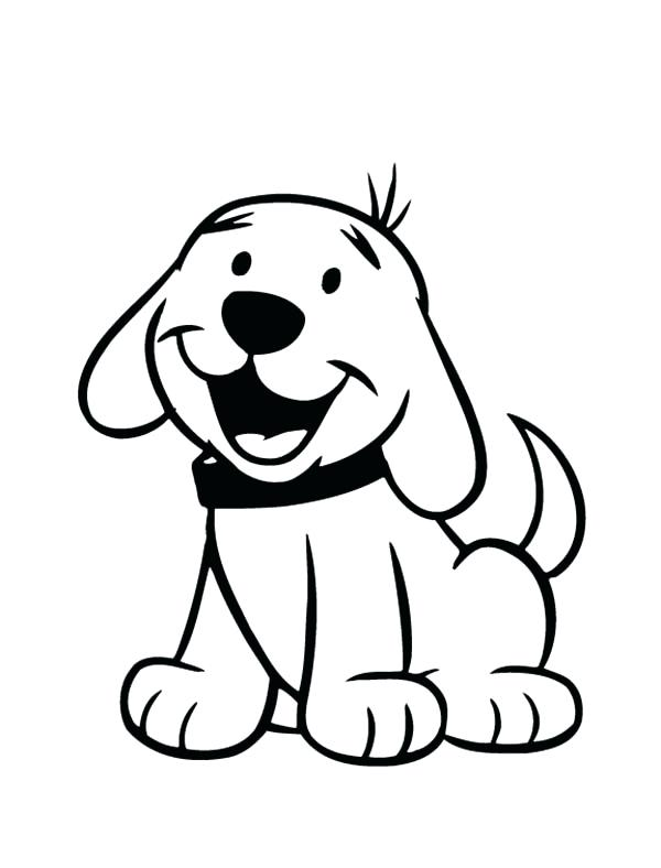 600x788 Puppy For Coloring Puppy Pictures For Kids To Color Puppy Coloring