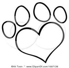 236x232 Drawn Puppy Paw Print