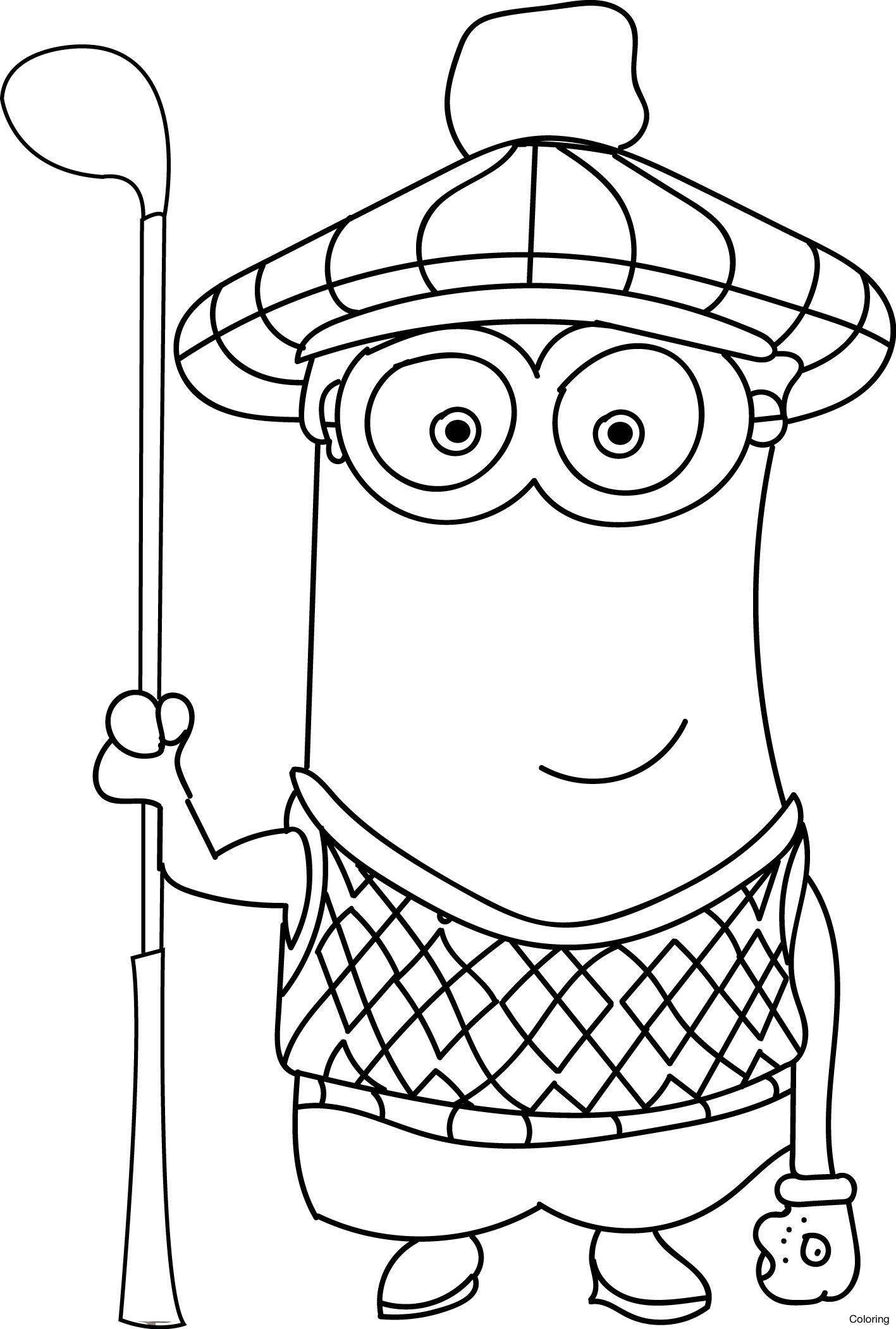 1417x2102 Inspirational Minion Coloring Pages 97 About Remodel Free Book