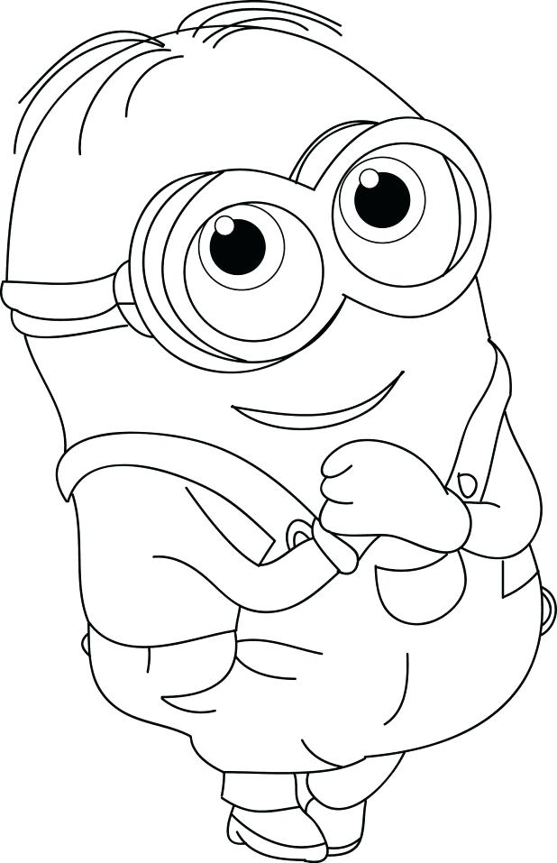 618x957 Top Rated Minion Coloring Pages Pictures Evil Minion Despicable Me