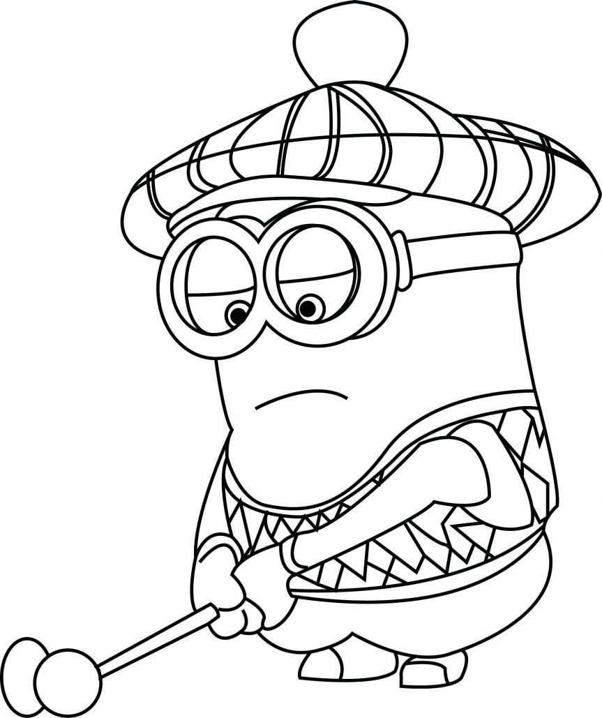 863x1029 Despicable Me Coloring Pages Minion Full Sheets 2 Evil Despicable