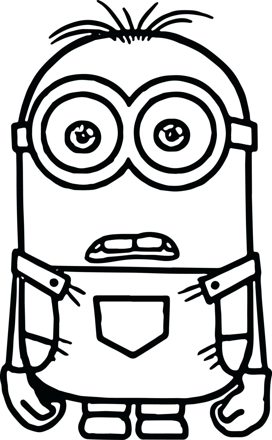 graphic relating to Free Printable Minions Eyes identified as Crimson Minions Drawing at  No cost for