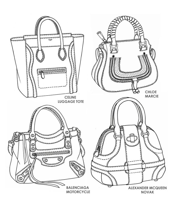 736x856 33 Best Bag Design Sketches Images On Bag Design