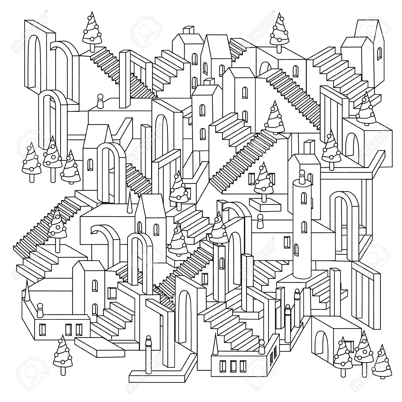 Puzzle Drawing at GetDrawings.com | Free for personal use Puzzle ...