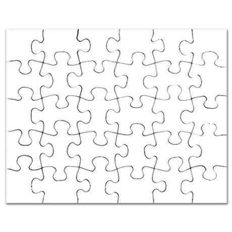 Puzzle Piece Drawing