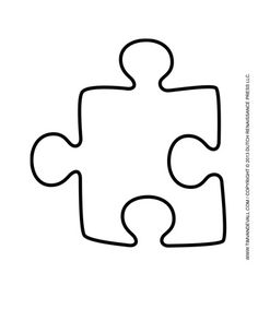 236x305 Printable Puzzle Pieces Template