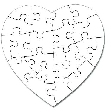 365x369 Puzzle Pieces Coloring Page Kid Putting On Puzzles Pieces Coloring