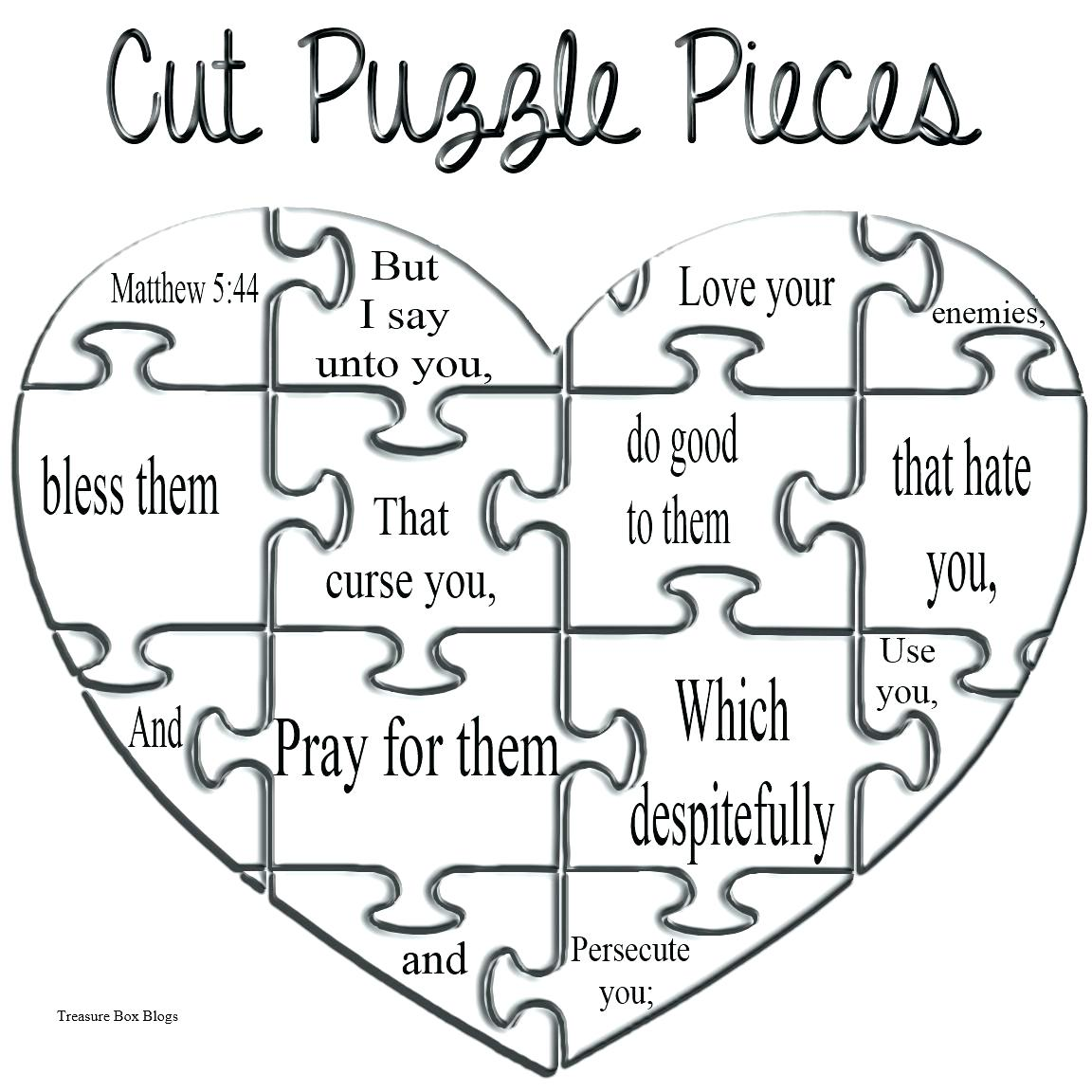 Puzzle Pieces Drawing at GetDrawings | Free download