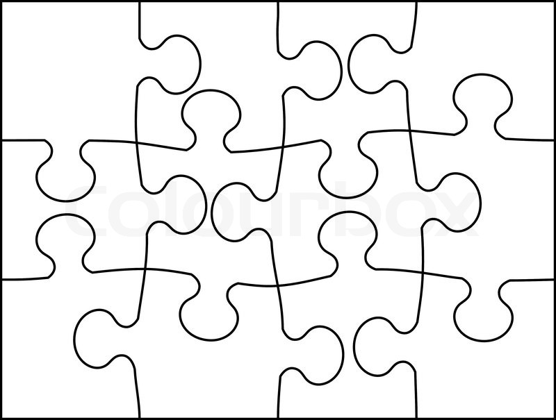 puzzle pieces drawing at getdrawings com free for personal use
