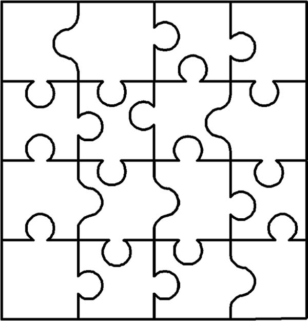 600x625 Kids Play Puzzles Coloring Page Kids Play Puzzles Coloring Page