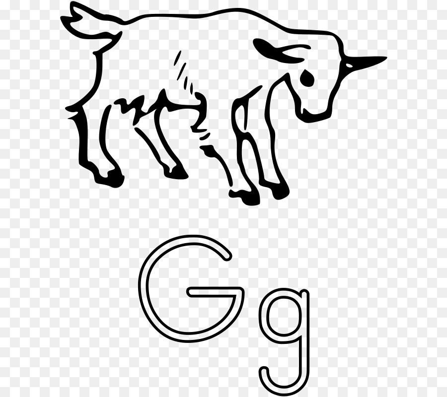 900x800 Pygmy Goat G Is For Goat Coloring Book Page Clip Art