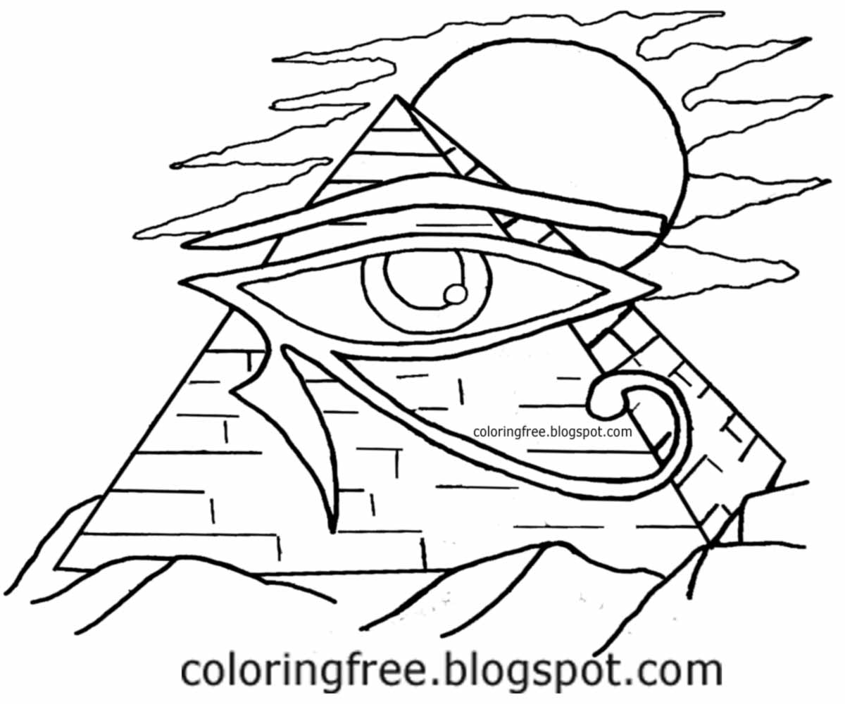 Pyramid Drawing at GetDrawings.com | Free for personal use Pyramid ...