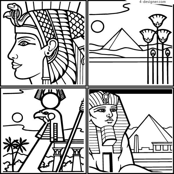 Pyramid Line Drawing
