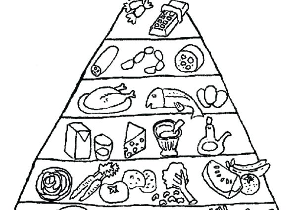 600x425 Pyramid Coloring Pages Line Drawings Online Food Pyramid Coloring