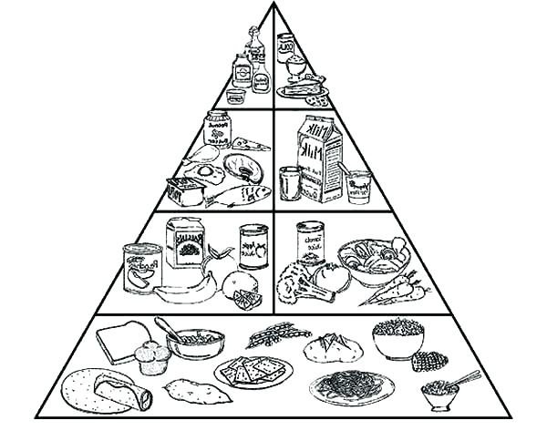 600x484 Pyramid Coloring Pages Food Pyramid Coloring Pages Free Food