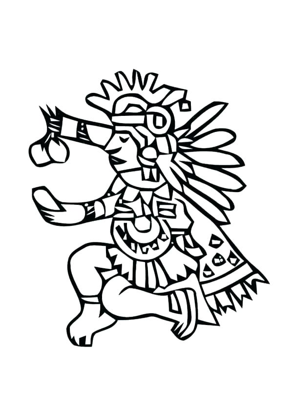 600x847 Best Of Aztec Coloring Pages Images Tribal Coloring Pages Aztec