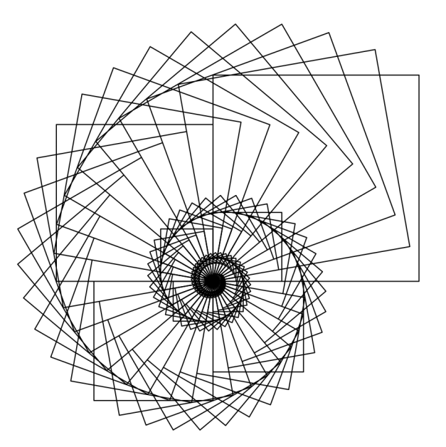 627x628 This Figure Was Drawn With Python Turtle Graphics. A Square Is
