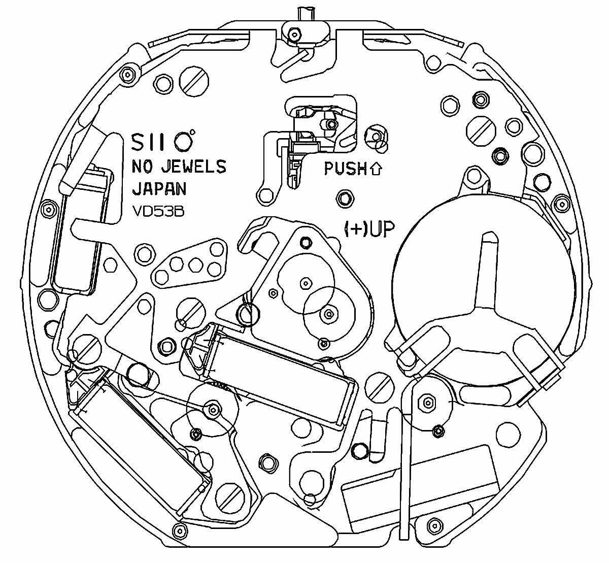 1200x1109 Hattori Caliber Vd53 Watch Movement