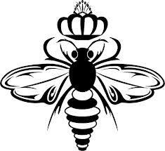 Queen Bee Drawing