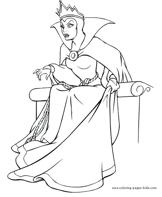 541x656 Queen Coloring Pages Also King And Queen Free Cartoon Coloring