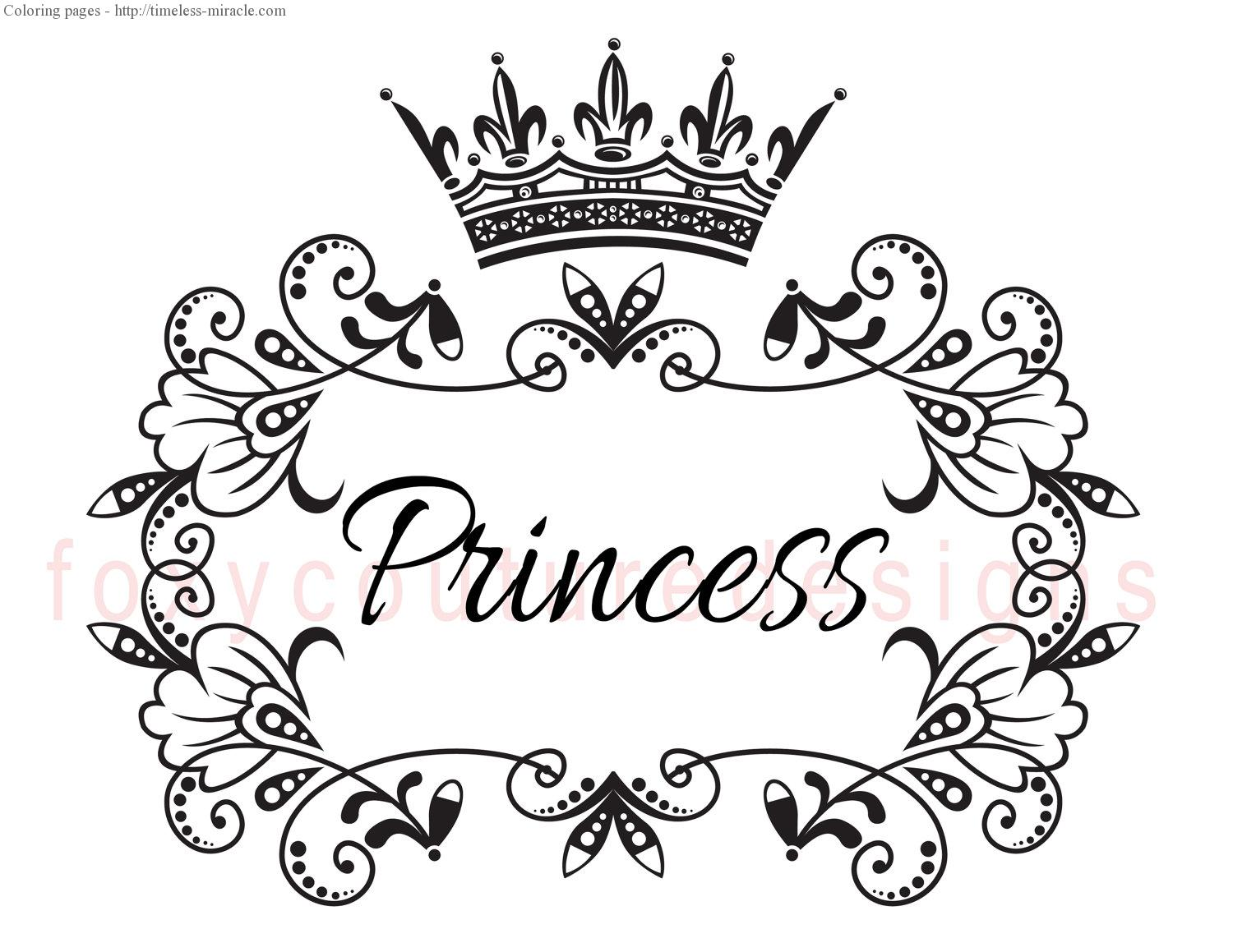 1500x1159 Princess Crown Coloring Pages Paginone.biz