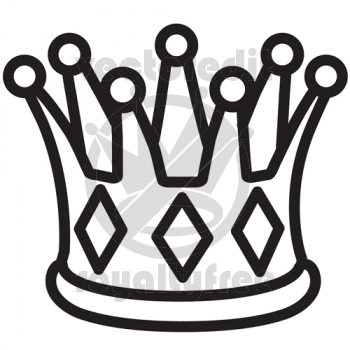 350x350 Simple King And Queen Crown Drawings