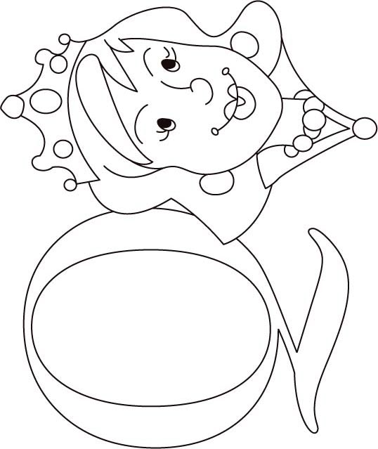 538x639 Q For Queen Coloring Page For Kids Download Free Q For Queen