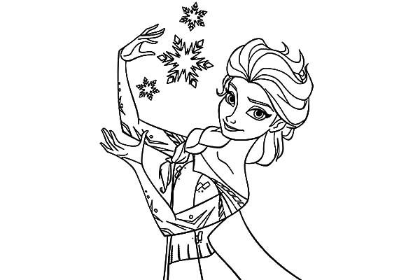 600x400 Queen Elsa Coloring Pages Kids Queen Elsa Coloring Pages