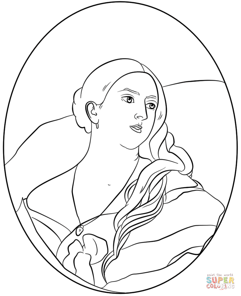 824x1012 Queen Victoria Coloring Page Free Printable Coloring Pages