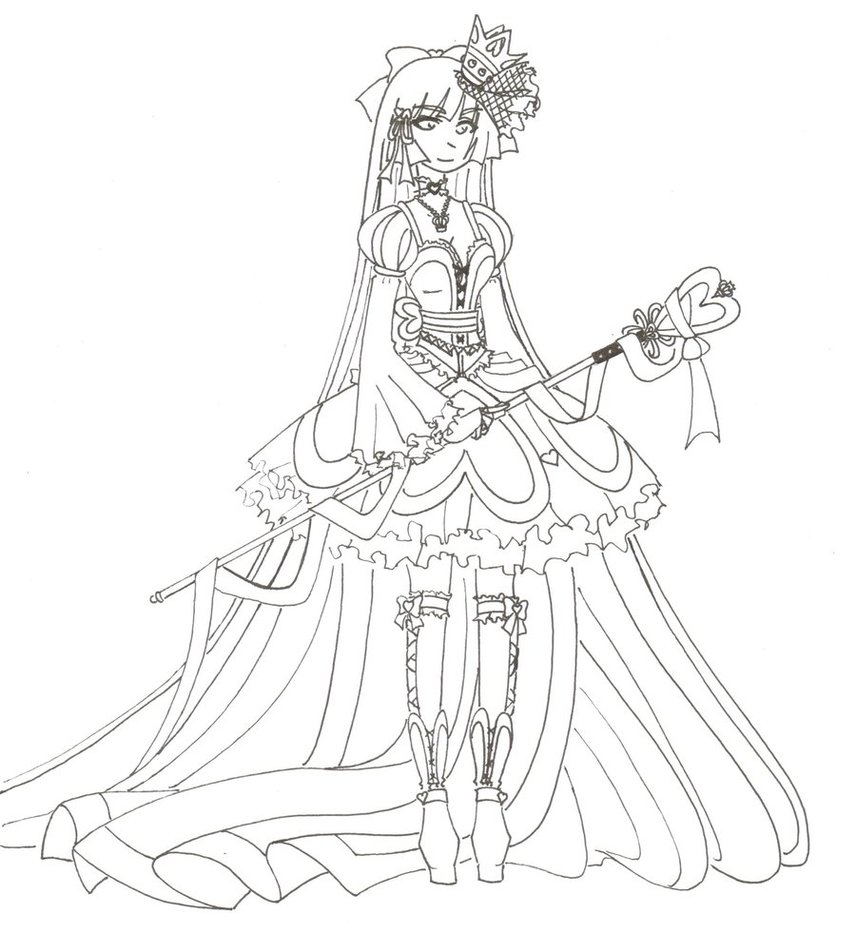856x933 Wip Queen Of Hearts By Madhatterkyoko