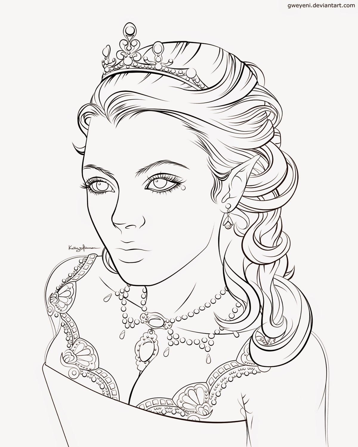 1200x1500 King And Queen Coloring Pages Sketch Template, Queen Coloring