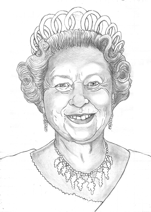 Line Drawing Of Queen Victoria : Queen elizabeth drawing at getdrawings free for
