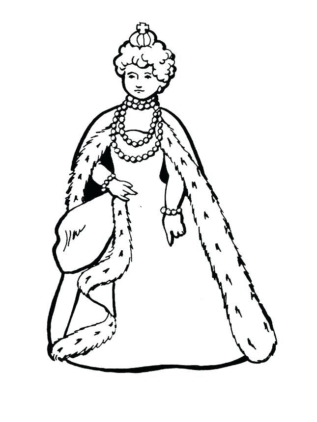 645x860 Queen Coloring Pages Best Queen Coloring Pages About Remodel Print