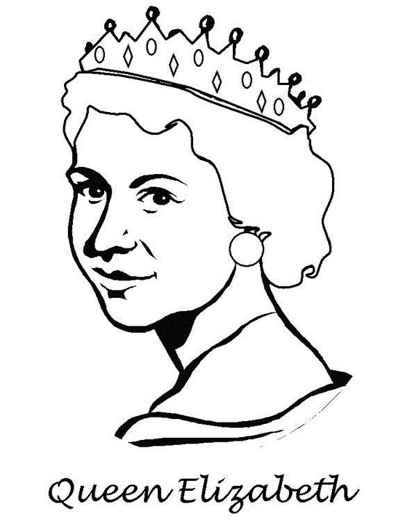 570x760 Queen Elizabeth Diamond Jubilee Coloring Pages 11 Coloring