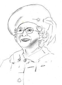 219x300 Queen Elizabeth Drawings